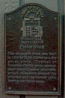 Caylor Block Marker image. Click for full size.