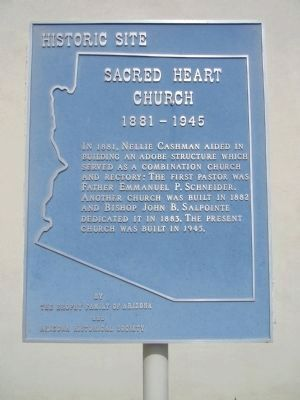 Sacred Heart Church Marker image. Click for full size.