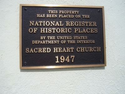 Sacred Heart Church image. Click for full size.