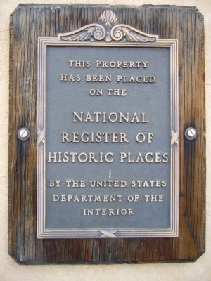 St. Paul's Episcopal Church Plaque Photo, Click for full size