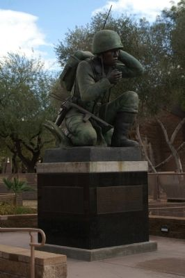 Navajo Code Talkers Memorial image. Click for more information.