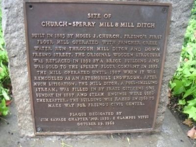 Church-Sperry Mill & Mill Ditch Photo, Click for full size