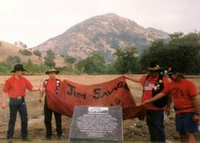 Dalton Mountain dedication Photo, Click for full size