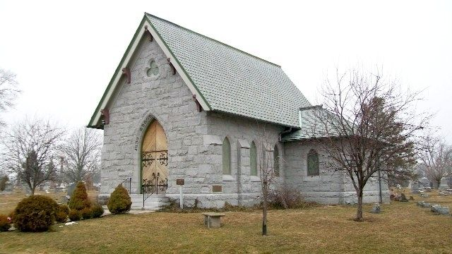 The Judy Memorial Chapel and Marker image. Click for full size.