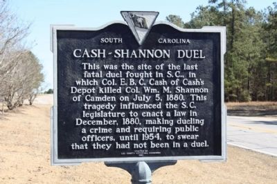 Cash-Shannon Duel Marker Photo, Click for full size