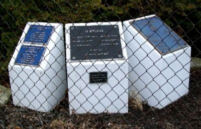 302nd TCW Aircraft Accident Memorial Photo, Click for full size