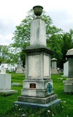 Philip Livingston Obelisk image. Click for full size.