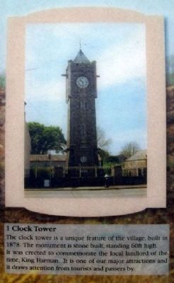 Clock Tower on Marker image. Click for full size.