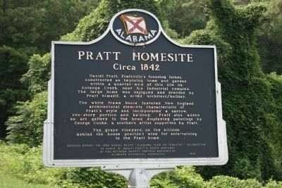 Pratt Homesite Marker image. Click for full size.