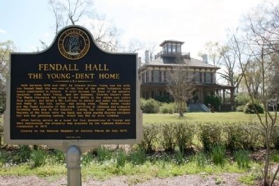 Fendall Hall Marker image. Click for full size.