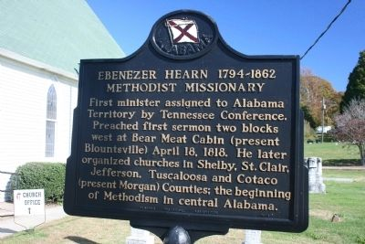 Ebenezer Hearn 1794-1862 Marker image. Click for full size.