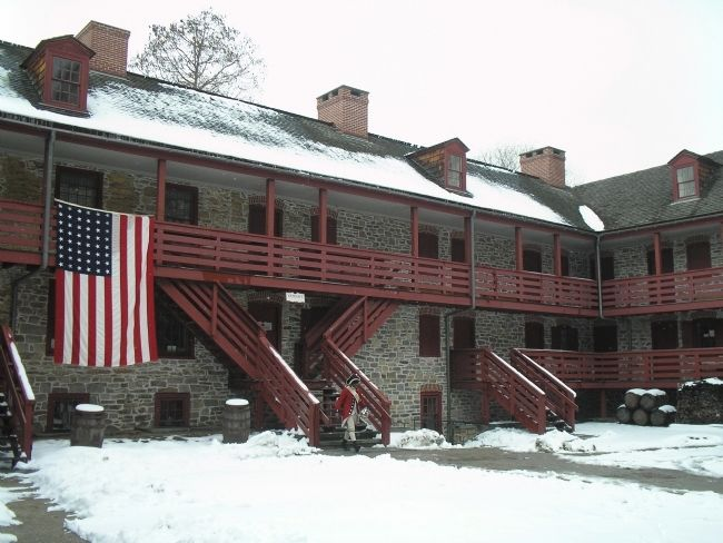 Old Barracks Museum image. Click for full size.