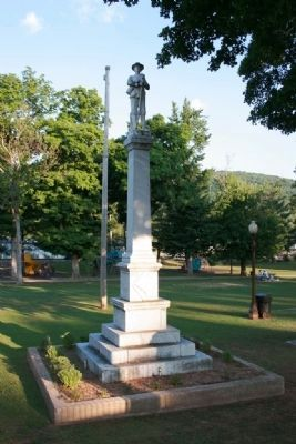 Civil War Monument in Union Park Photo, Click for full size