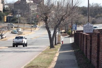 Marker (R) seen along Gadsden Street, looking south image. Click for full size.