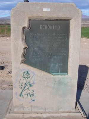 Geronimo Marker image. Click for full size.