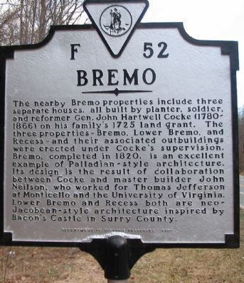 Bremo Marker image. Click for full size.