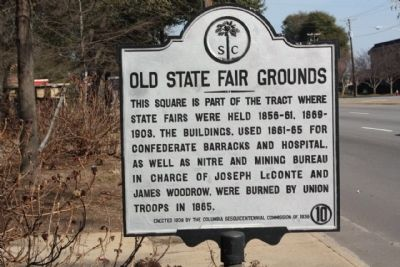 Old State Fair Grounds Marker image. Click for full size.