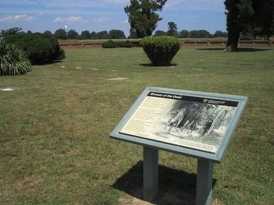 Yorktown National Cemetery Marker - Bivouac of the Dead image. Click for full size.