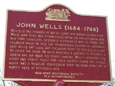 John Wells Marker image. Click for full size.