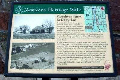Goodnoe Farm & Dairy Bar Marker image. Click for full size.