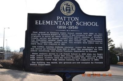 Patton Elementary School Marker image. Click for full size.