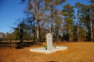 Mt. Zion Lutheran Church Marker and Cemetery image. Click for full size.