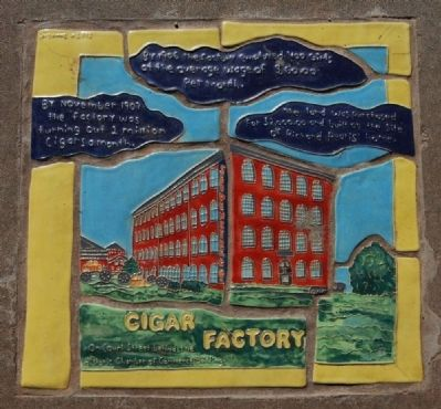 Cigar Factory Marker Photo, Click for full size