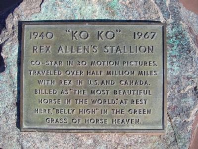 Plaque Mounted on Rock on Walkway image. Click for full size.