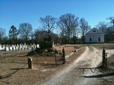 Spann Methodist Church and Cemetery image. Click for full size.