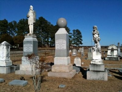 The Ward Family Graves image. Click for full size.