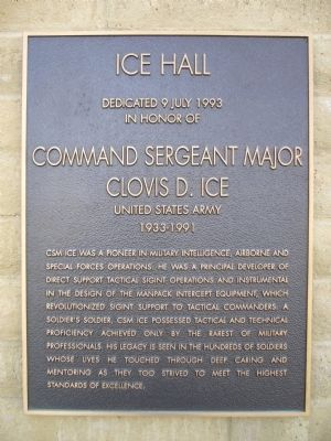 Ice Hall Marker image. Click for full size.