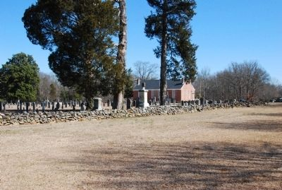 Ebenezer Presbyterian Church Cemetery image. Click for full size.