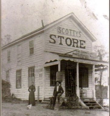 Scotty's, The Original Store Building at Humphreys Photo, Click for full size