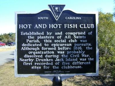 Hot and Hot Fish Club Marker Photo, Click for full size