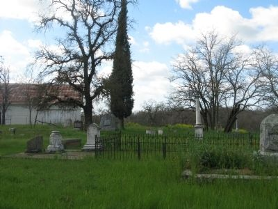 Sloughhouse Pioneer Cemetery image. Click for full size.