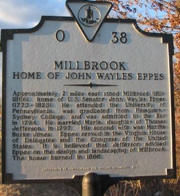 Millbrook Marker image. Click for full size.