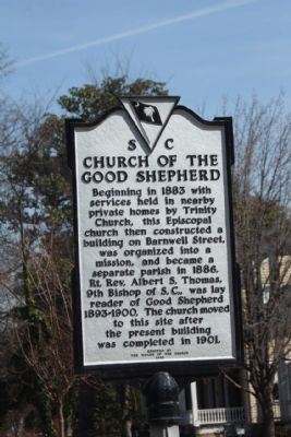 Church of the Good Shepard Marker image. Click for full size.