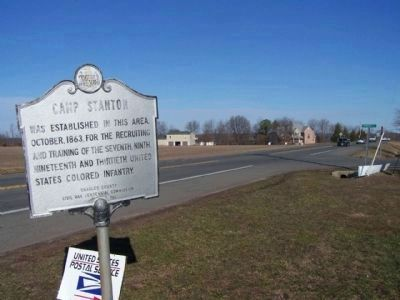 Camp Stanton Marker Photo, Click for full size