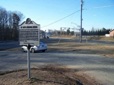 All Saints Episcopal Church Marker at State Roads 2 & 4 merge Photo, Click for full size