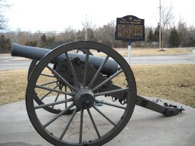 Pratt's Artillery Marker Photo, Click for full size