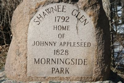 Shawnee Glen Marker image. Click for full size.