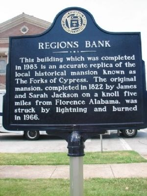 Regions Bank Marker Photo, Click for full size