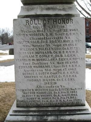 Litchfield Soldiers Memorial image. Click for full size.