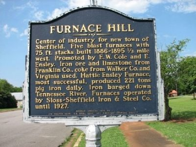 Furnace Hill Marker image. Click for full size.