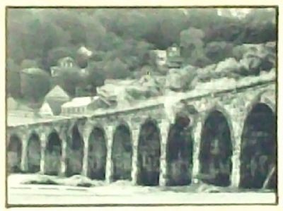 The Great Stone Viaduct Drawing on Marker image. Click for full size.