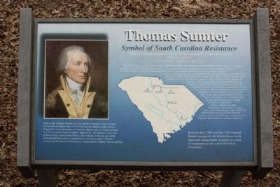 Thomas Sumter Marker image. Click for full size.