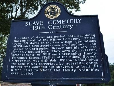 Slave Cemetery 19th Century - Side B Photo, Click for full size