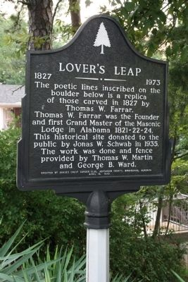 Lover's Leap Marker image. Click for full size.