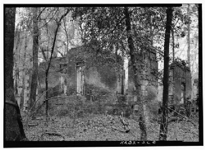 Crowfield Plantation , view from the northwest image. Click for full size.