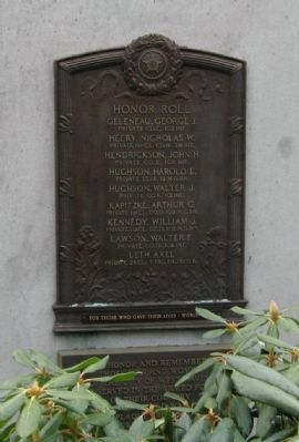 West Haven World War I Monument image. Click for full size.